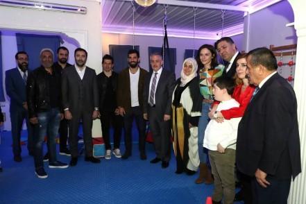 Down Sendromu Farkındalık Günü, Eyüpsultan Belediye Başkanı Remzi Aydın, Arda Turan, Emre Belözoğlu, Sinem Öztürk, Mustafa Uslu