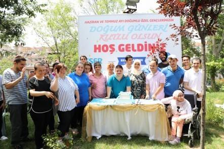 Engelliler Sürekli Eğitim ve Rehberlik Merkezi, ESER, Eyüpsultan Belediye Başkanı Remzi Aydın'ın eşi Tülay Aydın, Eyüpsultan Belediyesi, doğum günü