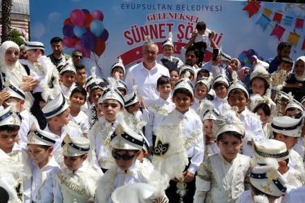 Eyüpsultan Belediye Başkanı Remzi Aydın, Eyüpsultan Belediyesi, sünnet şöleni, boğaz turu