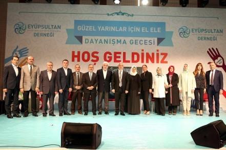 Eyüpsultan Kültür, Sanat, Spor, Eğitim ve Dayanışma Derneği, Eyüpsultan Belediye Başkanı Remzi Aydın, Tülay Aydın