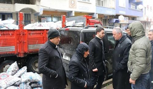 Eyüpsultan Belediye Başkanı Remzi Aydın, Sosyal Destek Hizmetleri Müdürlüğü, yardım, gıda